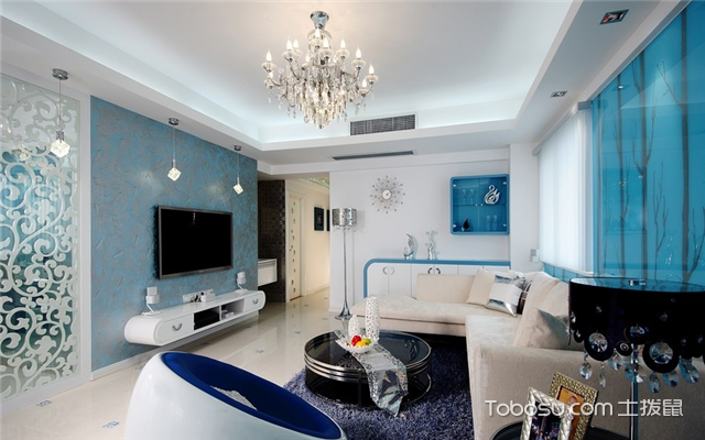 客厅壁纸设计
