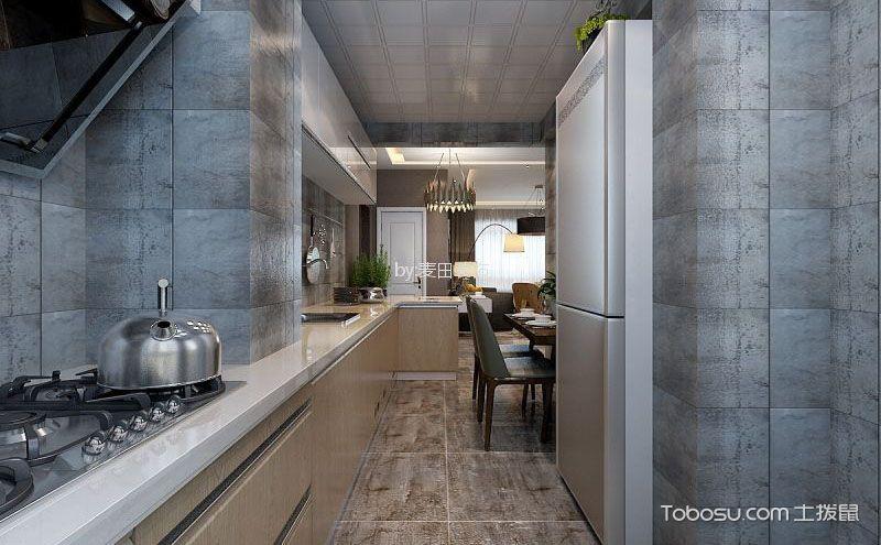 创意十足的后现代风格厨房装修图片