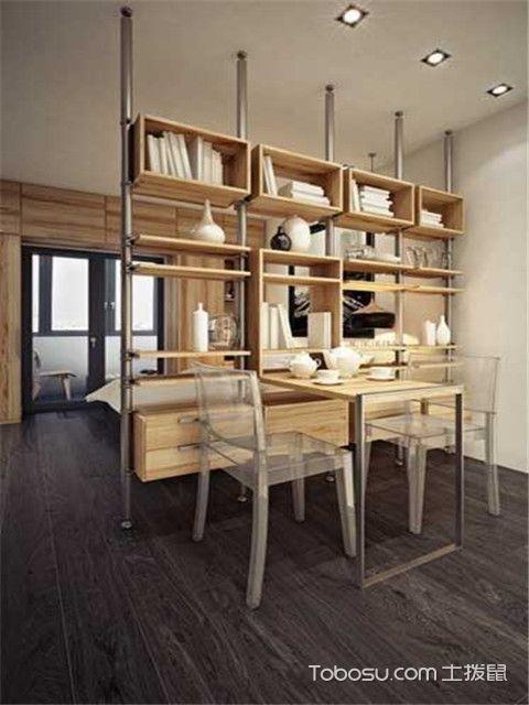 33平米小户型客餐厅装修