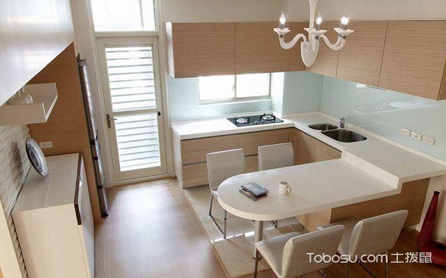 45平米复式二房一厅装修图厨餐厅设计