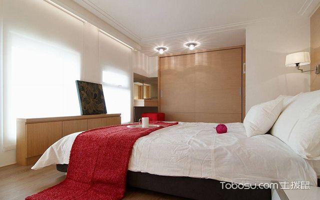 45平米复式二房一厅装修图卧室