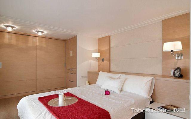 45平米复式二房一厅装修图卧室设计
