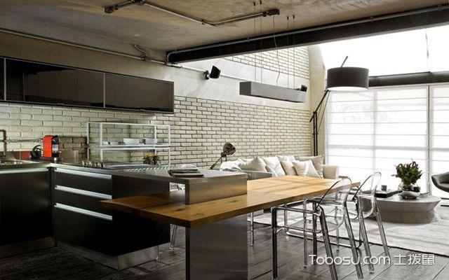 40平米小复式装修之厨房