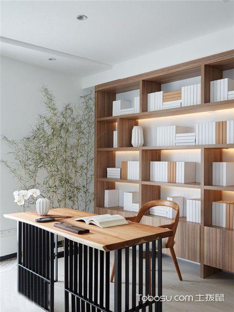 合肥简约书房装修预算