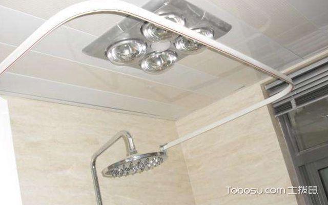 卫生间浴帘杆什么材质好图3