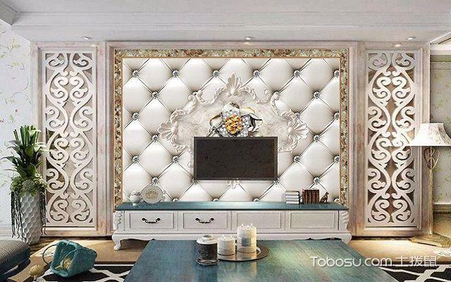 电视背景墙框石材