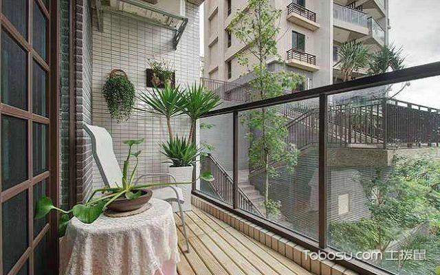 开放式阳台如何防雨遮雨棚