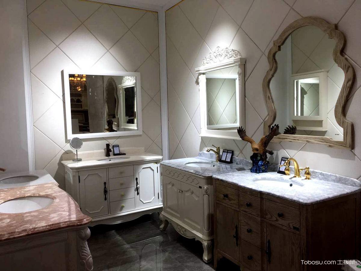 卫生间橱柜设计搭配图片_土拨鼠装修经验