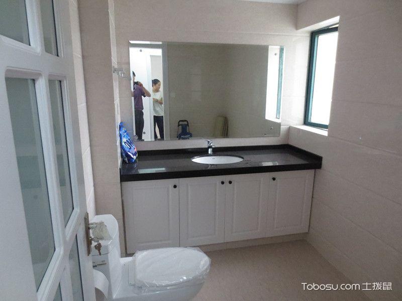 卫生间橱柜设计搭配图片白色_土拨鼠装修经验