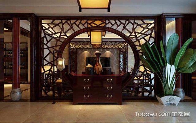 中式门厅玄关