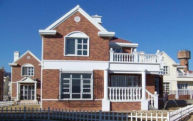 农村别墅外墙砖效果图白砖