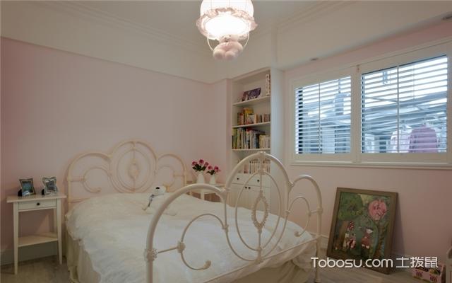 粉色系少女房间装修