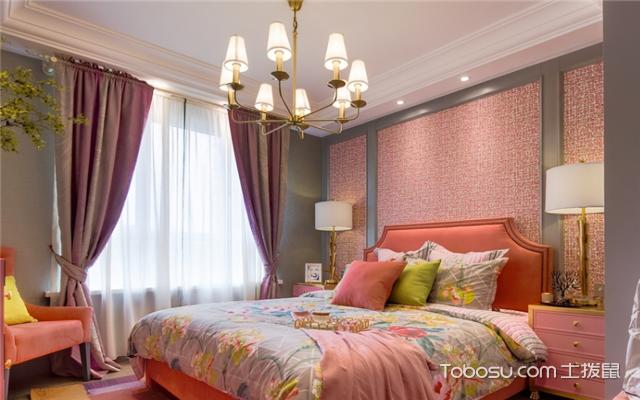 粉色系房间装修