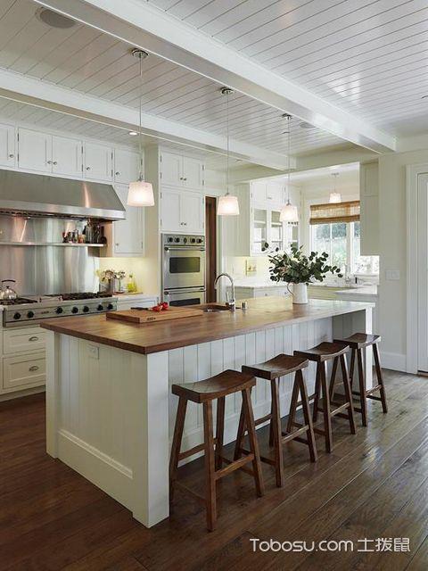 开放式厨房吧台怎么做