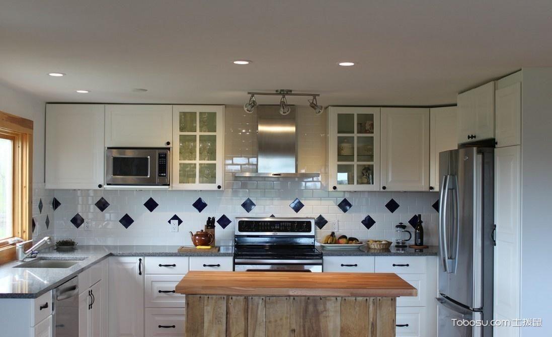开放式厨房橱柜_土拨鼠装修经验