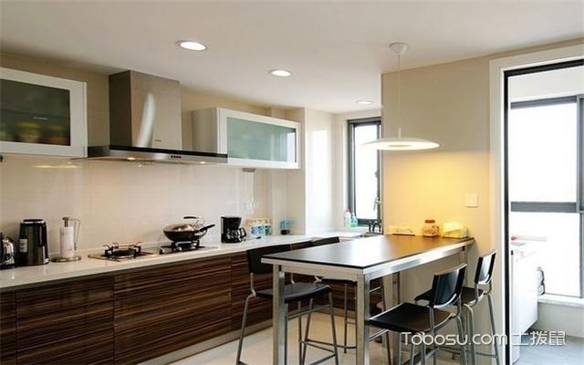 厨房餐厅一体设计案例