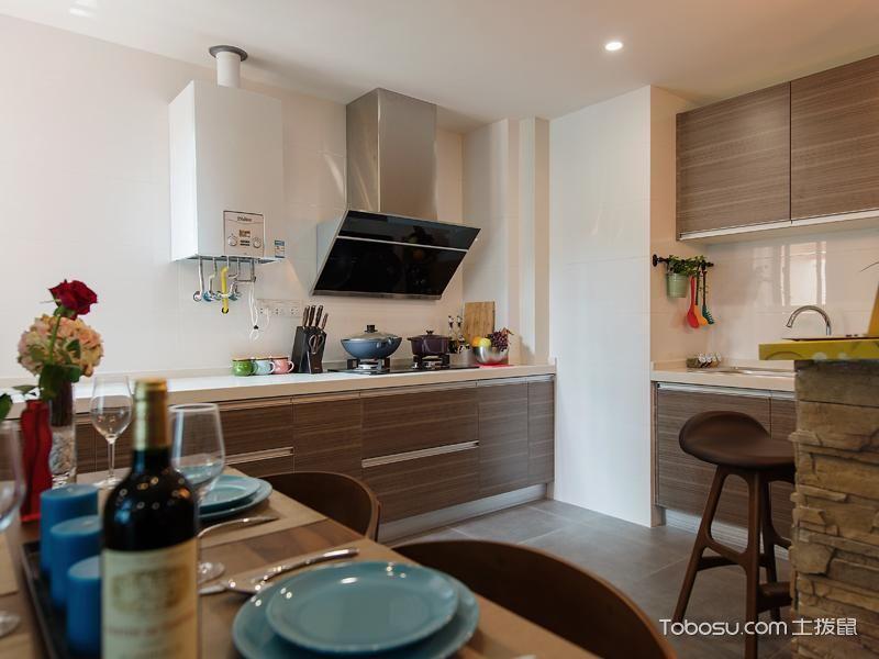 小厨房装修橱柜选购搭配图片_土拨鼠装修经验