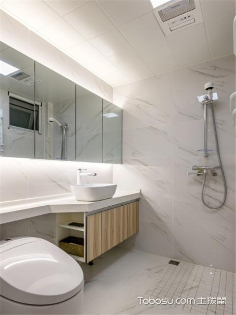 小户型卫浴简单装修图片