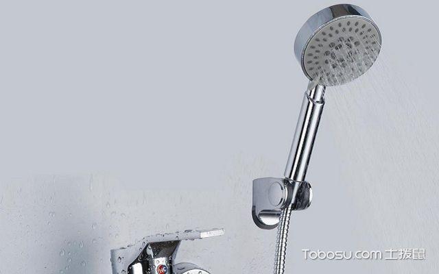 淋浴花洒龙头怎么安装打孔