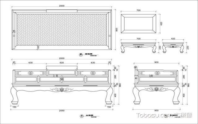 罗汉床标准尺寸