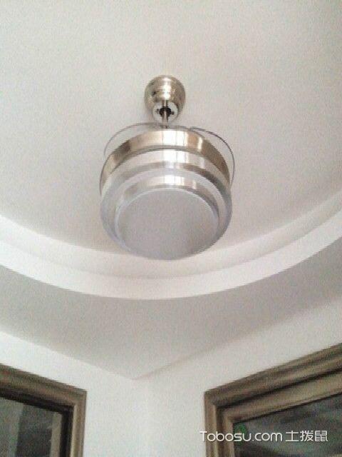 现代化客厅隐形吊扇灯