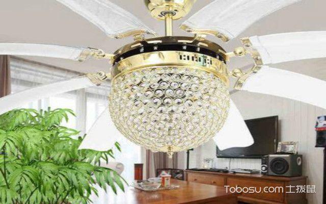 客厅隐形吊扇灯设计案例