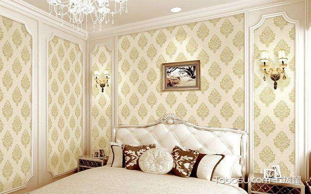 卧室墙布贴什么颜色好图1