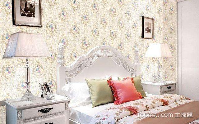 卧室墙布贴什么颜色好图4