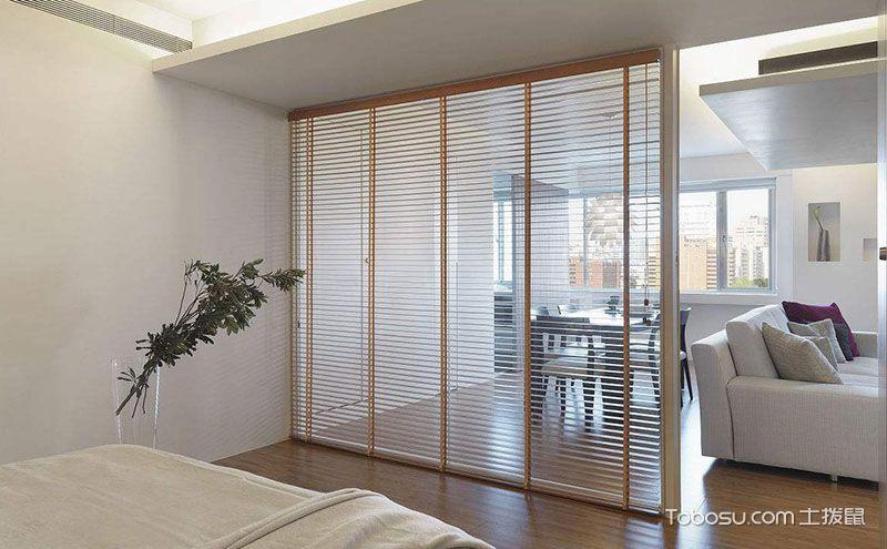 小户型客厅卧室隔断,令人心动的经典设计