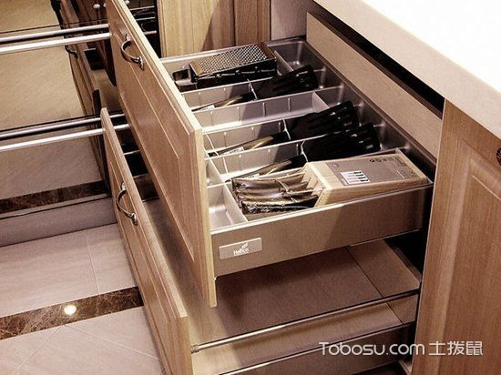 厨房橱柜收纳案例_土拨鼠装修经验