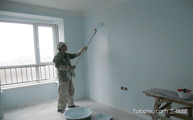 墙面滚漆_土拨鼠学装修网