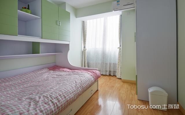宁波87平米简单装修费用之卧室
