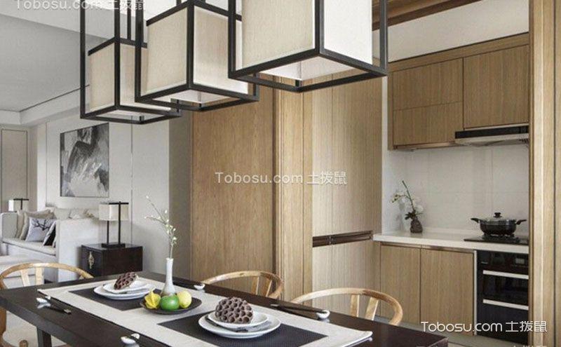 新中式风格厨房装修图,精致在每个细节