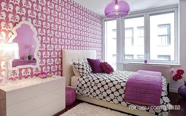 日式少女房间装修图片粉色