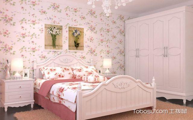 日式少女房间装修图片碎花