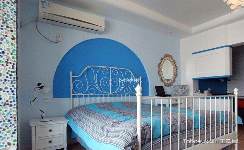 地中海风格一室小户型装修图,徜徉于海洋世界