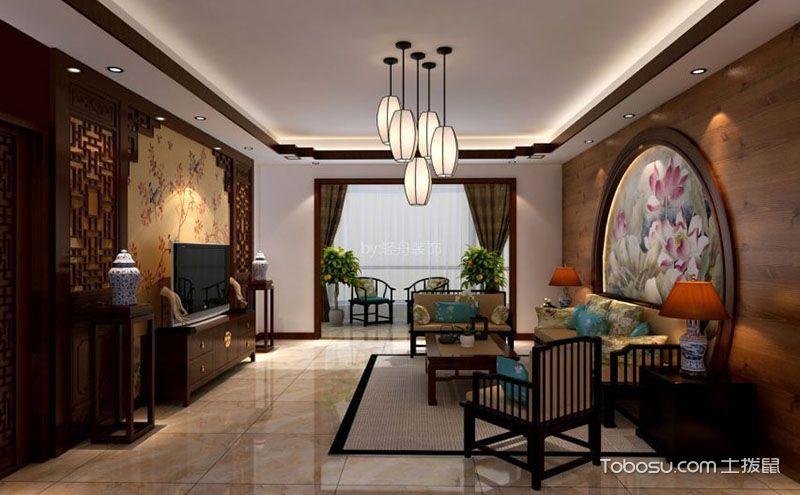 中式风格客厅灯具,营造唯美典雅氛围