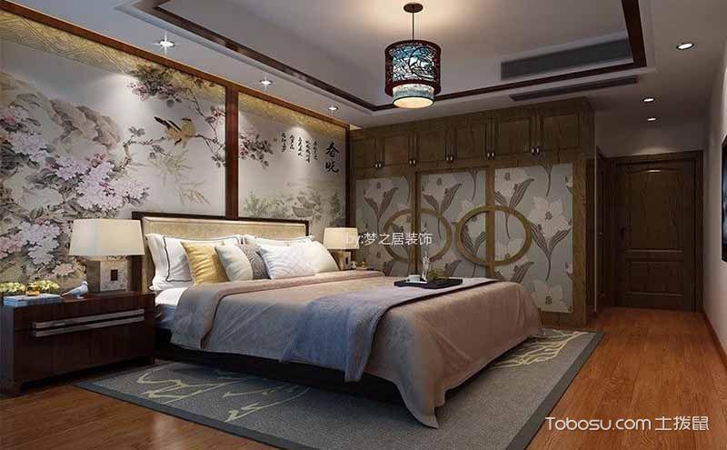 中式风格主卧室墙,恍如隔世美不胜收