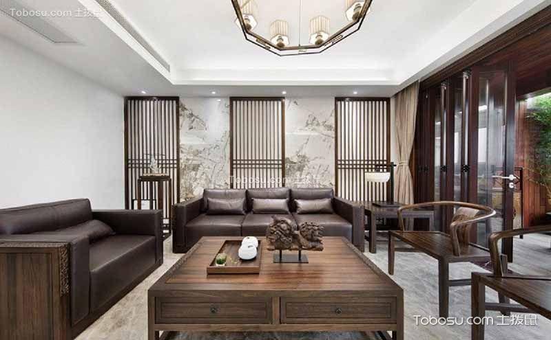 中式现代风格装修图片,韵味悠长时尚永恒