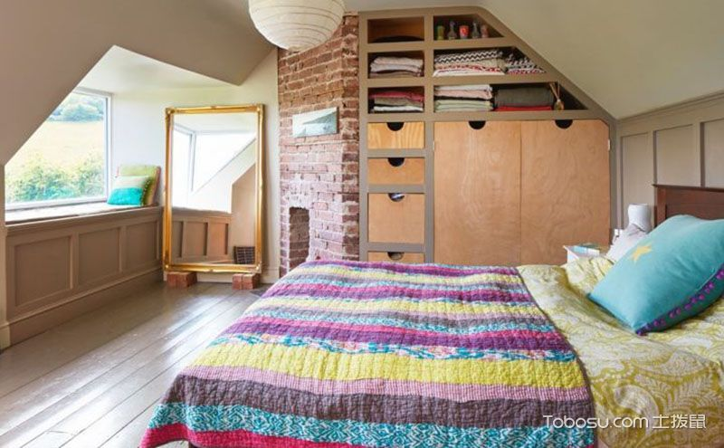 10平卧室装修效果图,睡在这里梦香甜