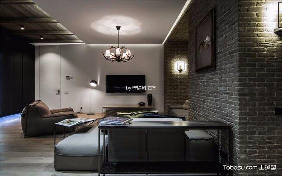 30平米客厅装修设计,爱上这样的大气之家