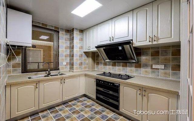 金华88平米小三房装修案例之厨房