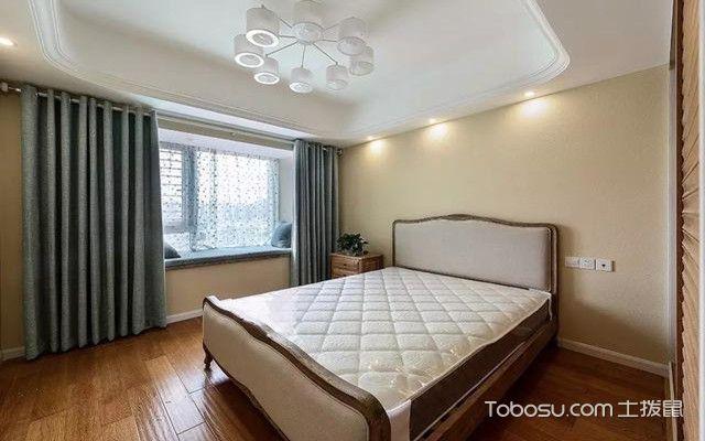 金华88平米小三房装修案例之卧室