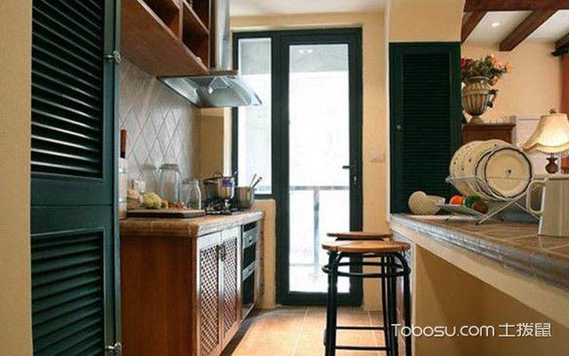 小户型厨房应该怎么装之设计要点