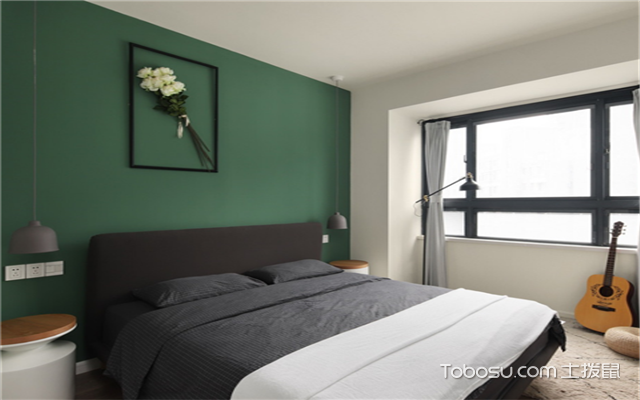 北欧风格小户型卧室装修,小平米演绎高品质北欧风图片