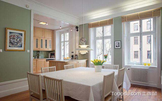55平米北欧风格小户型厨房设计
