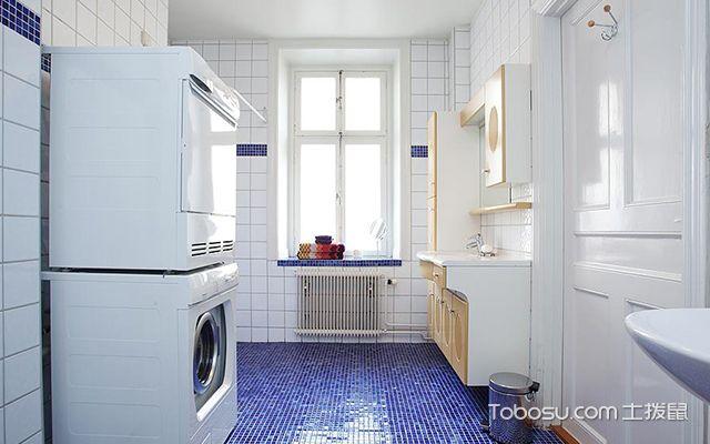 55平米北欧风格小户型卫生间