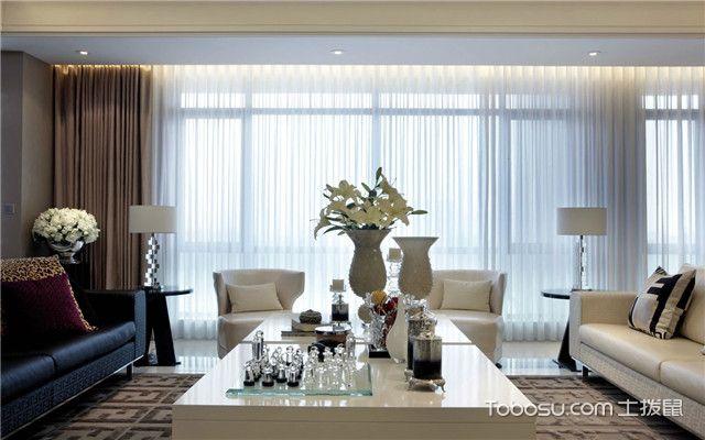 客厅窗帘选择