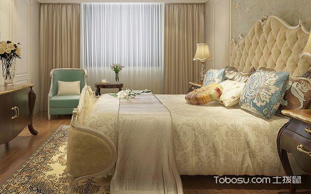 欧式卧室装修效果图2