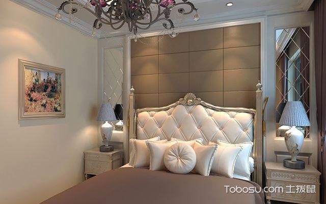 欧式卧室装修效果图4